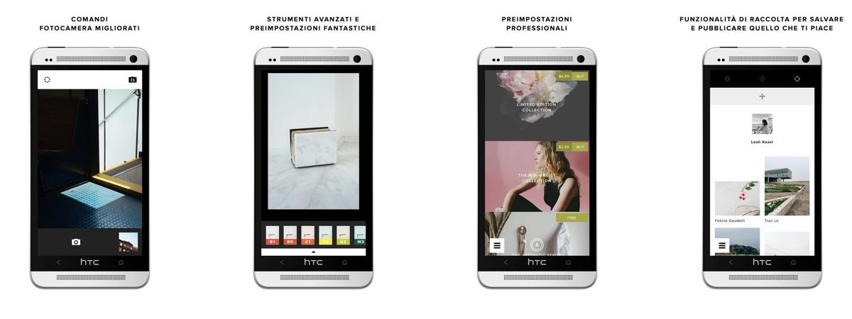 app di editing fotografico - VSCO