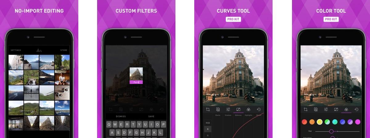 Darkroom: app di editing fotografico