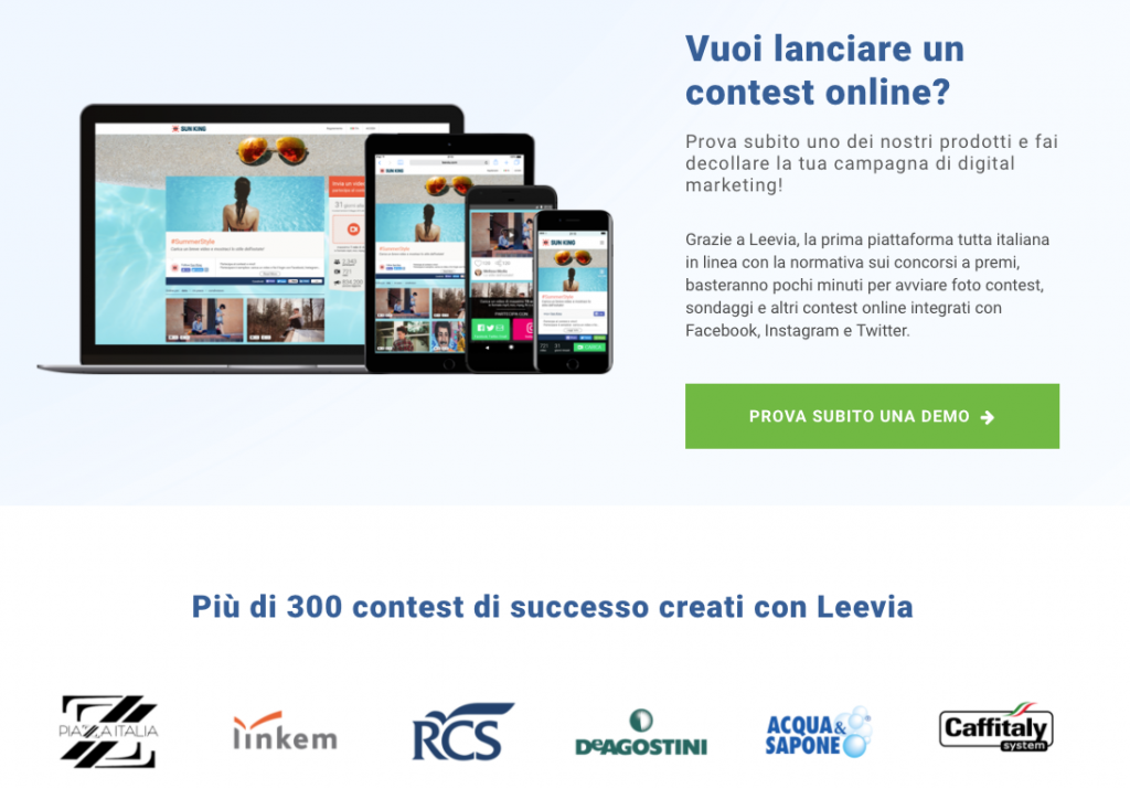 lead generation con un contest online