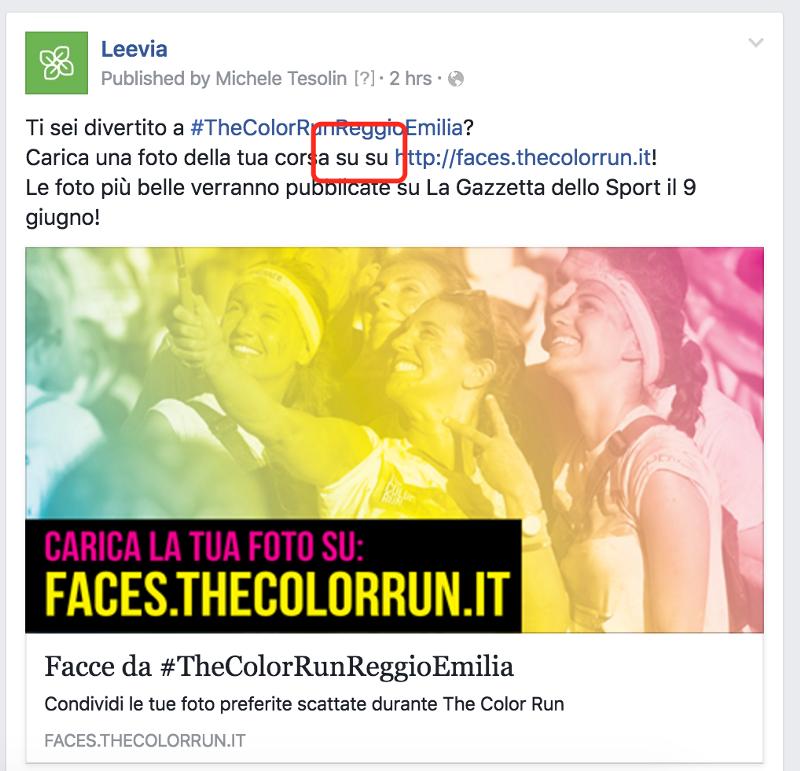 modificare un post sponsorizzato su Facebook