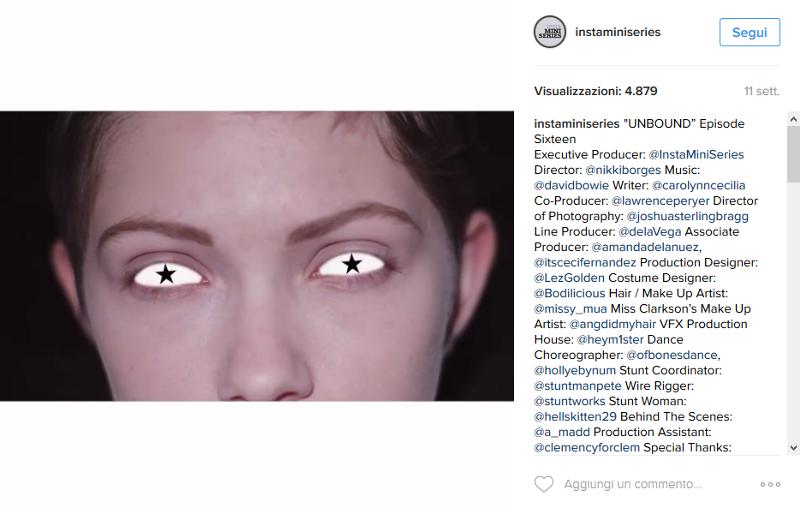 instagram instaminiserie