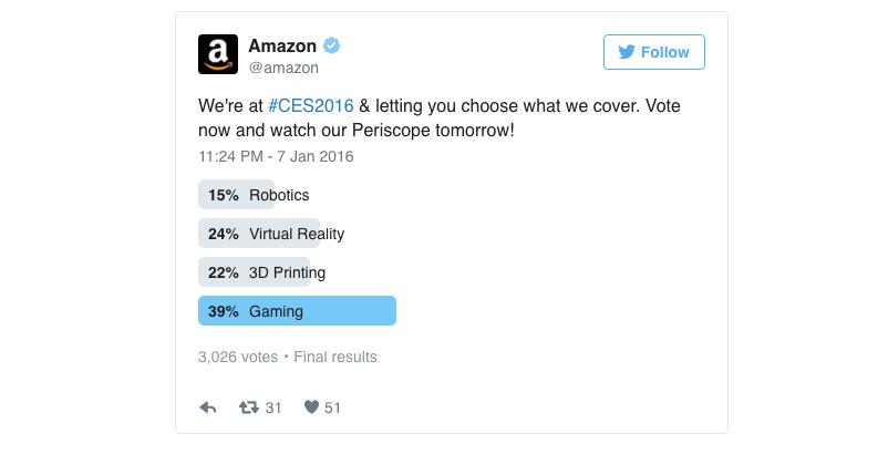 sondaggio content creation