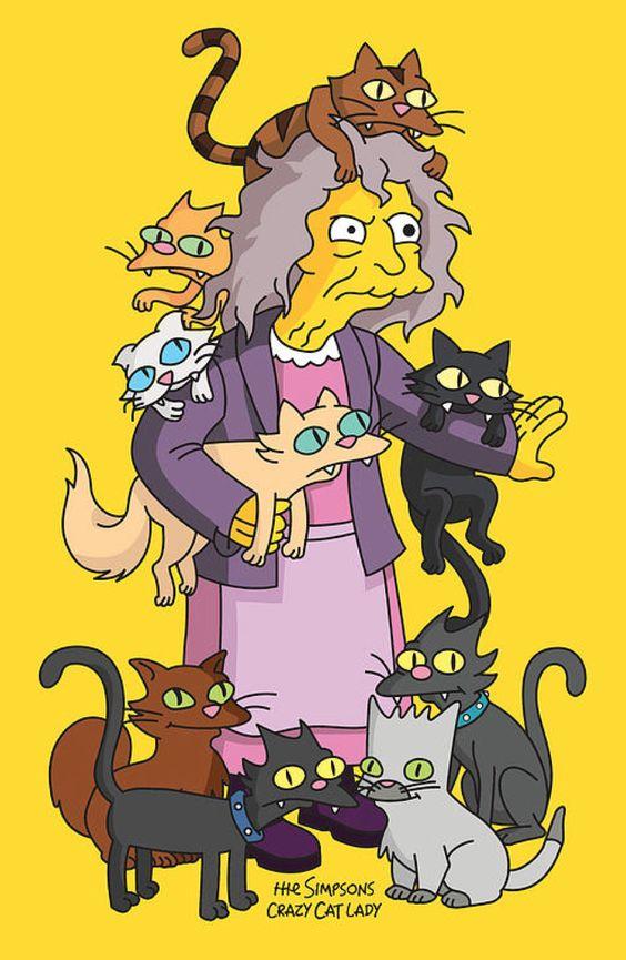 cani o gatti? simpson