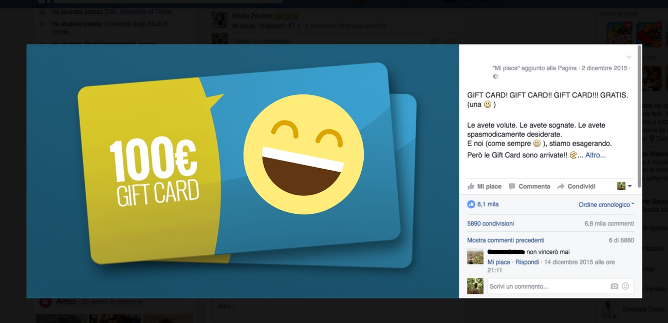 Contest giveaway sui social network: sono legali oppure no?
