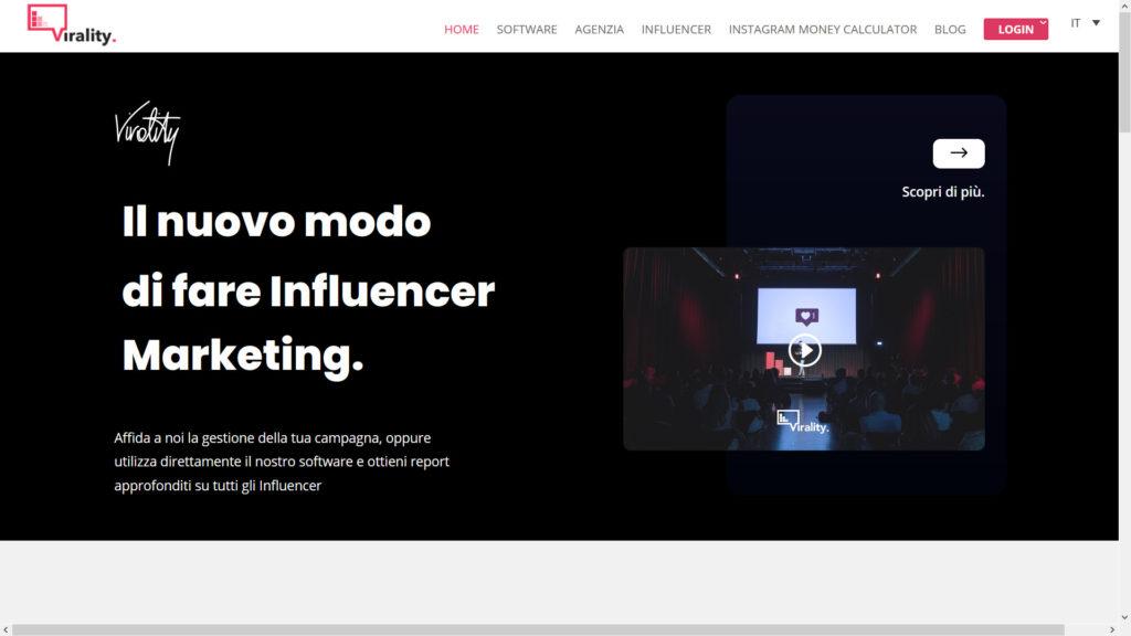 Virality Influencer marketing