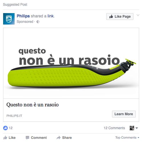 meglio peggio social media marketing philips