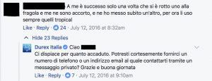 analisi pagina facebook durex 3