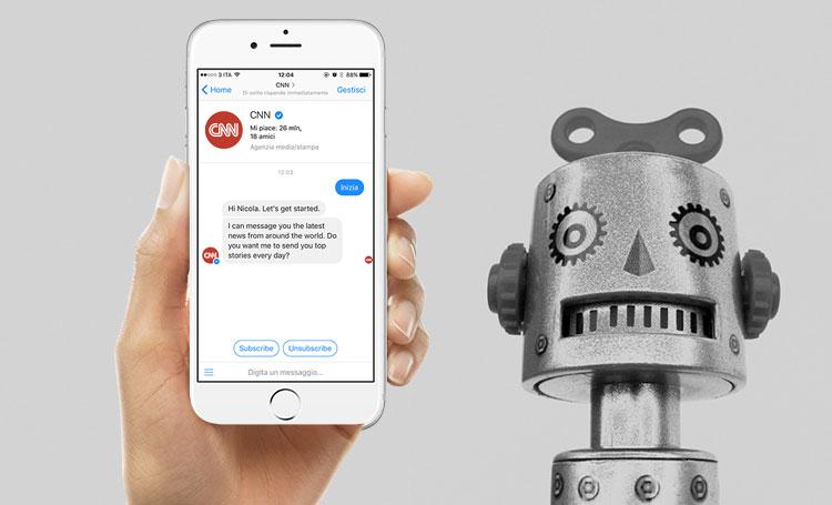 Come creare un Facebook chat bot e installarlo su Messenger