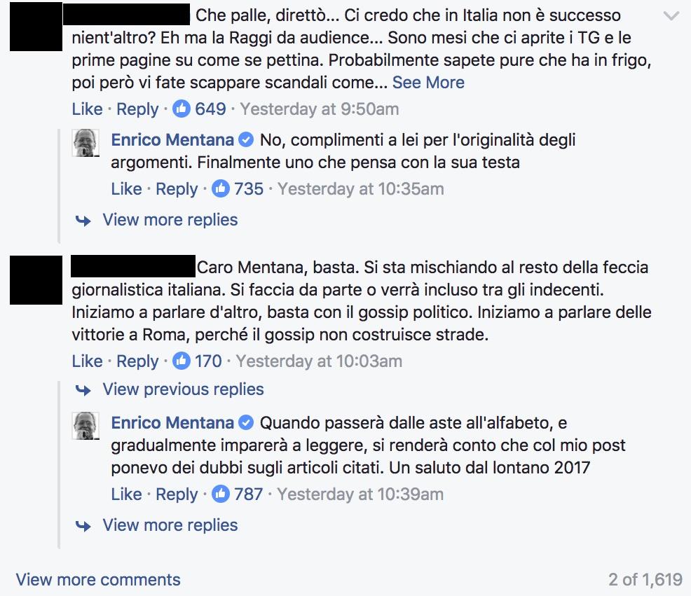 analisi pagina facebook mentana_1