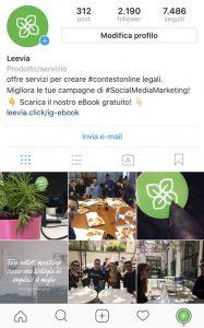 instagram leevia