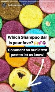 Instagram Stories Lush