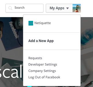 Aggiungere una app Facebook