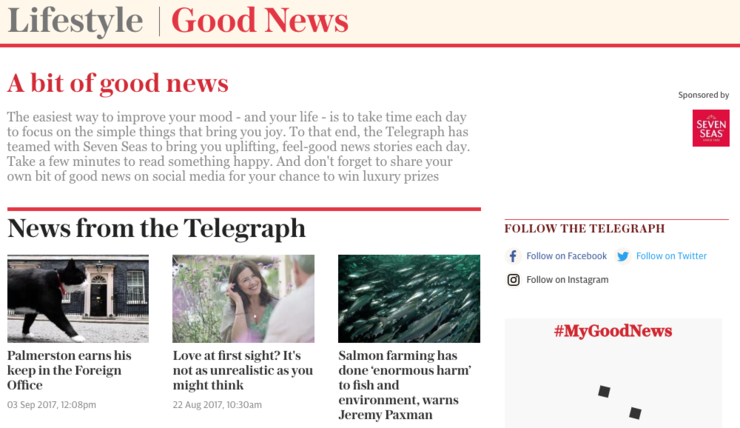 Native Advertising - The Telegraph