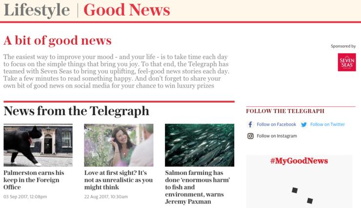 Native Advertising - The Telegraph