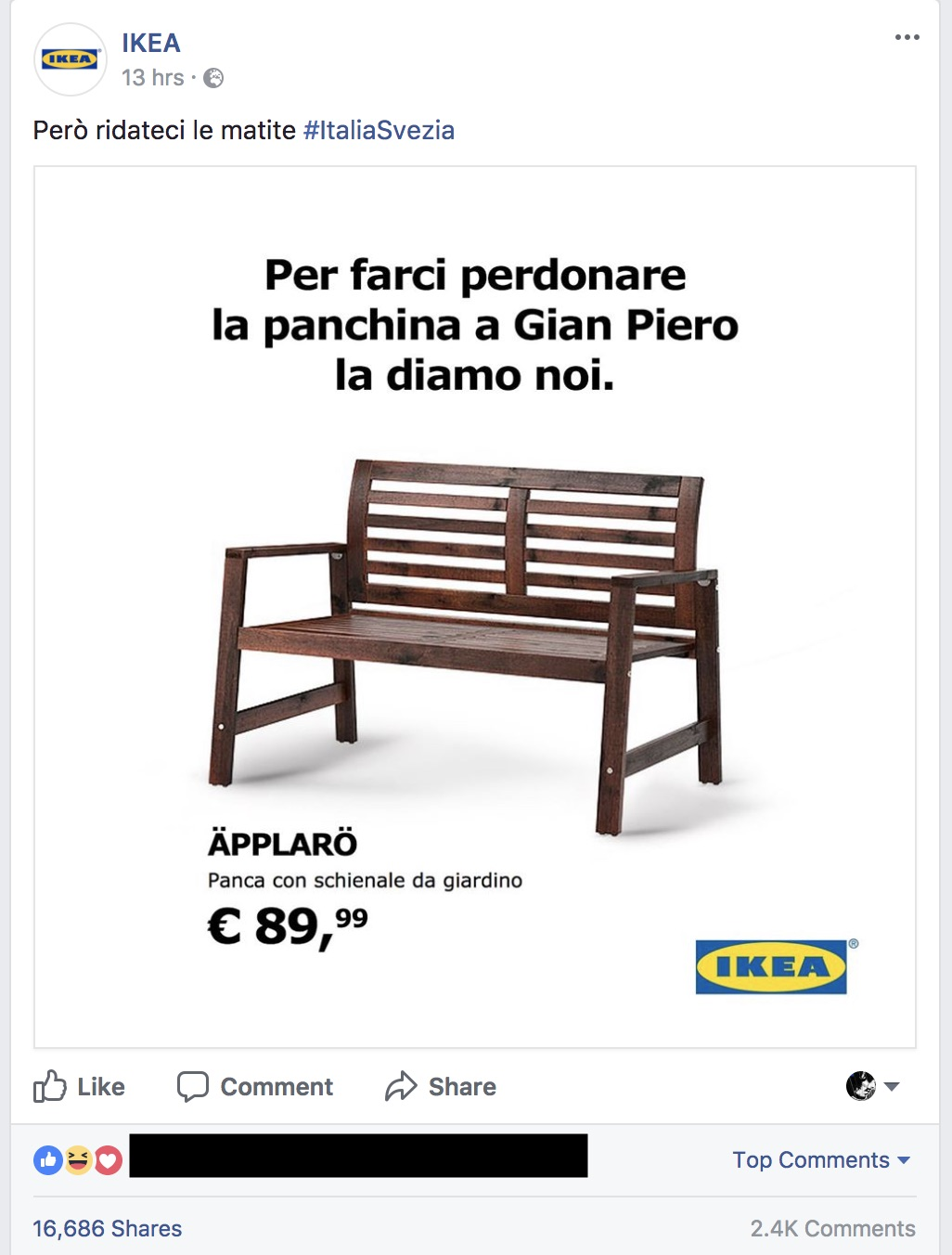 social media marketing di novembre i fail ed i win. Black Bedroom Furniture Sets. Home Design Ideas