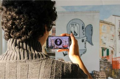 realtà aumentata e street art cover