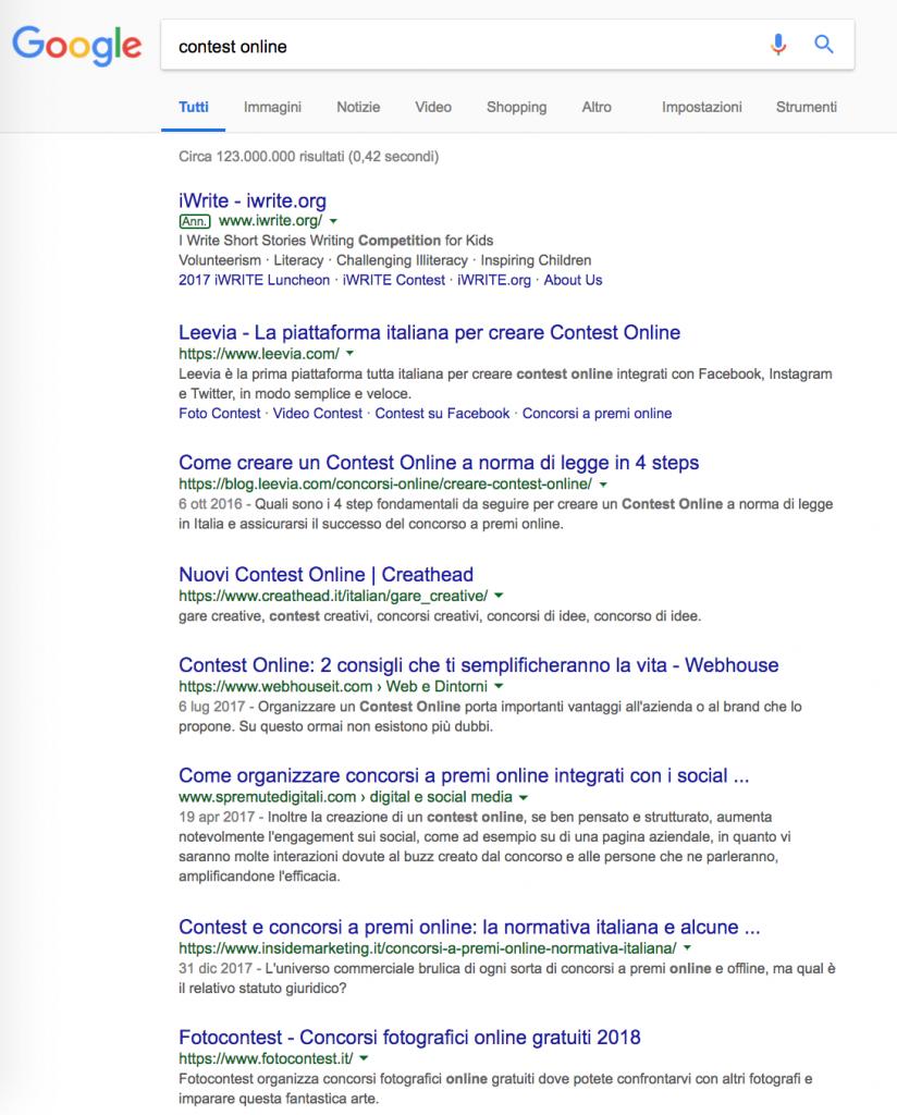 google piano editoriale