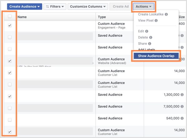 facebook audience overlap 2