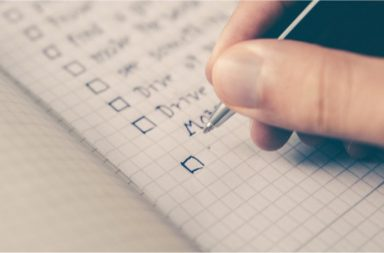 social media checklist blog