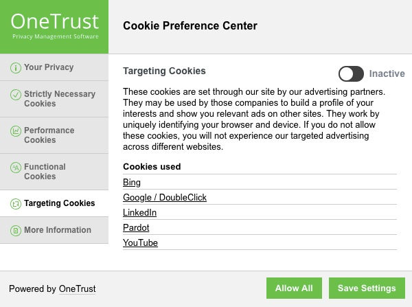 GDPR cookies notice giusta 2