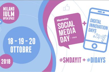 Leevia al Mashable: l'evento e di cosa parleremo