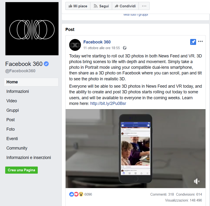 Facebook foto 3d weekly marketing recap