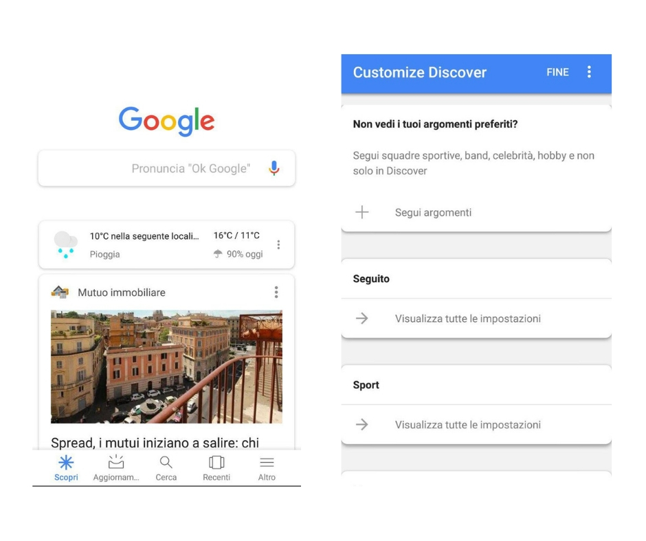 Google Discover weekly marketing recap 2 novembre