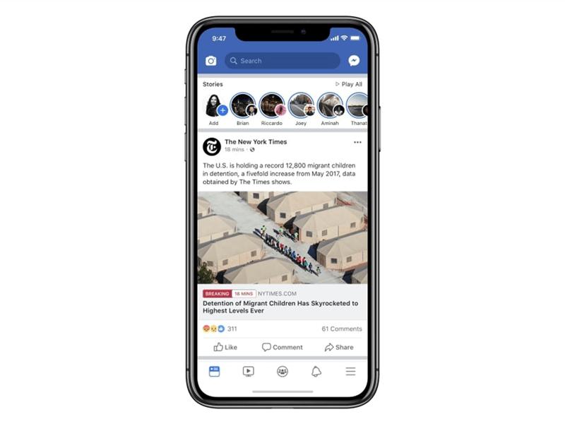 weekly marketing recap 9 novembre facebook breaking news