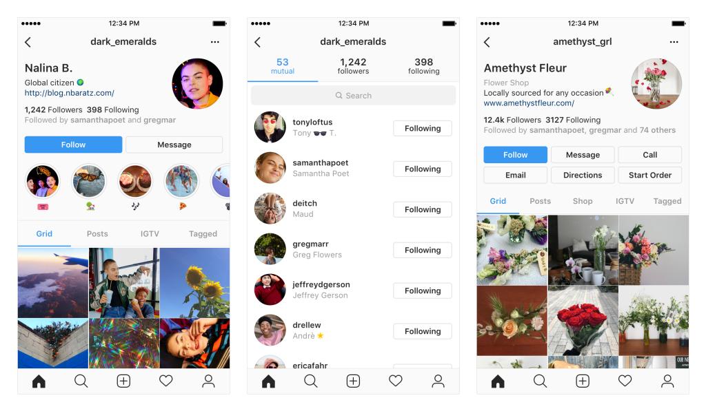 Instagram design profili weekly marketing recap