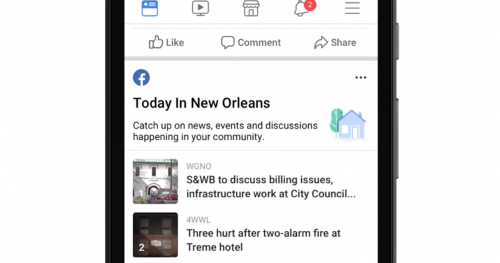 today in facebook weekly marketing recap
