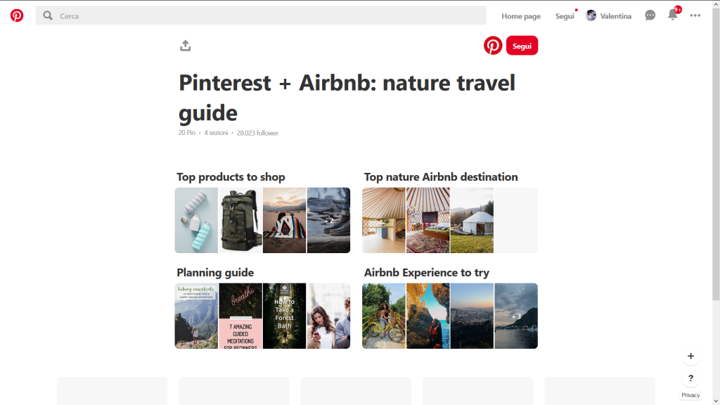 Pinterest e airbnb weekly marketing recap