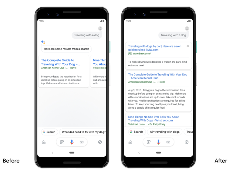 Novità Google Assistant