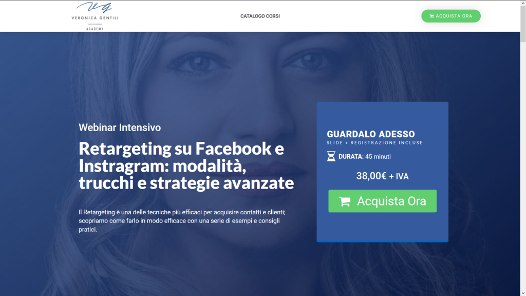 webinar Veronica Gentili