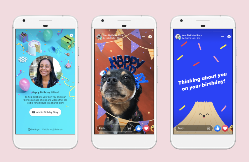 facebook stories compleanno weekly mrketing recap