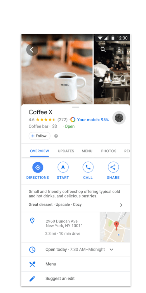 google my business weekly marketing recap
