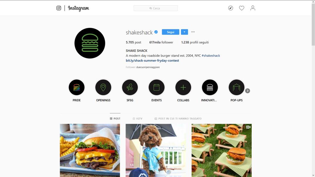 brand identity instagram
