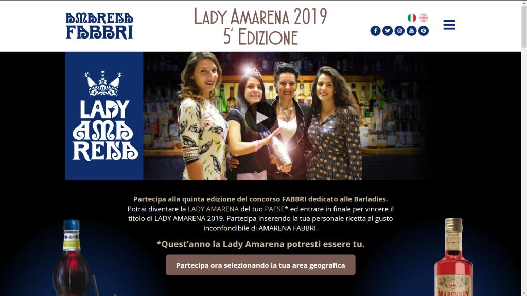 contest internazionale lady amarena