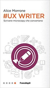 copertina ux writer alice morrone libro digital marketing