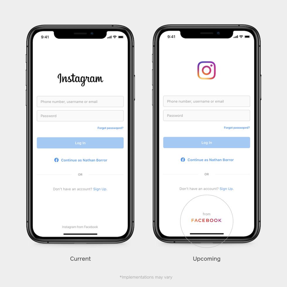 nuovo logo aziendale Facebook