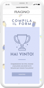 instant win calendario dell'avvento