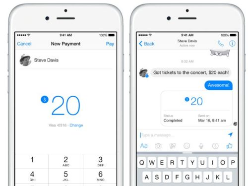 Come funziona Facebook Pay con Messenger