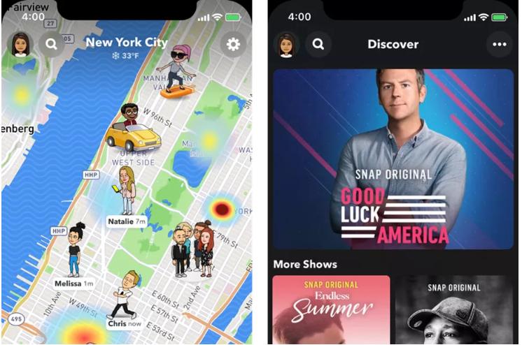 Nuovo stile per Snapchat 2020