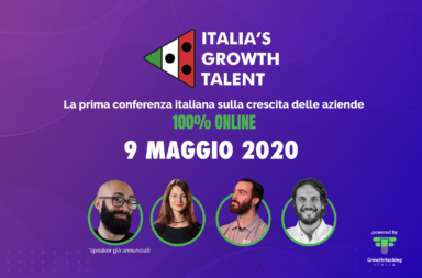 italian growth talent evento online