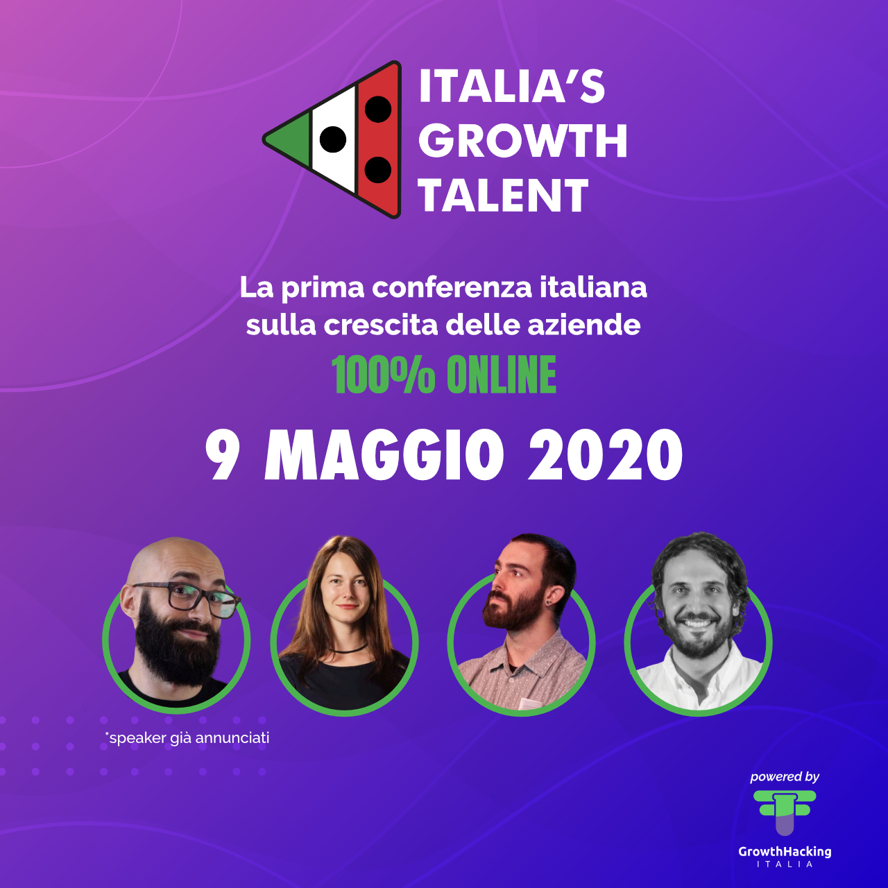 Italia's Growth Talent: la conferenza sulla crescita aziendale è 100% online