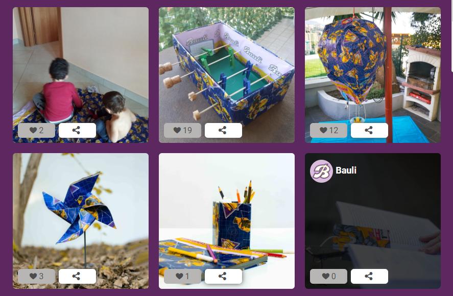 esempi di instagram contest e foto contest creativi - bauli