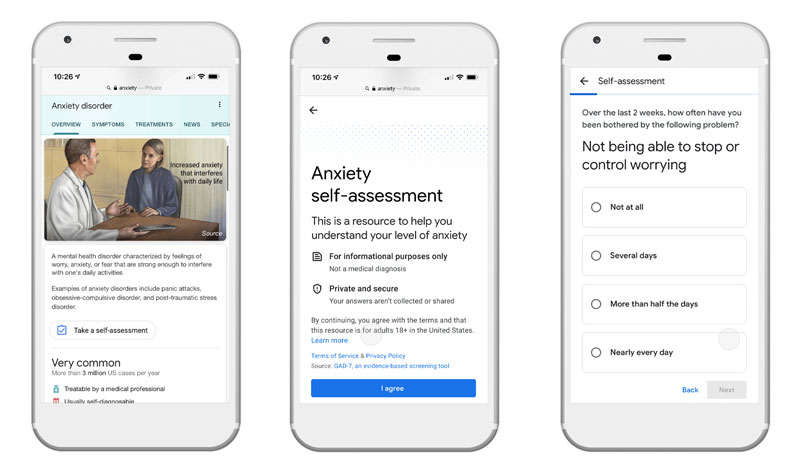 Test ansia Google