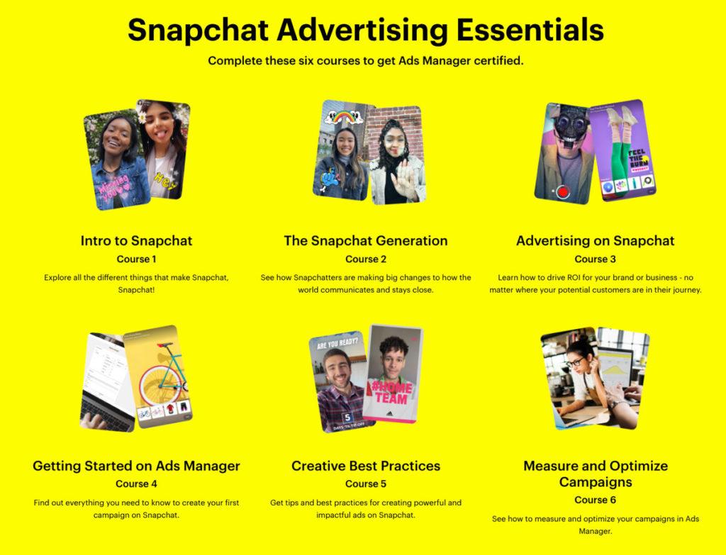snapchat corso advertising weekly marketing reap 22 giugno