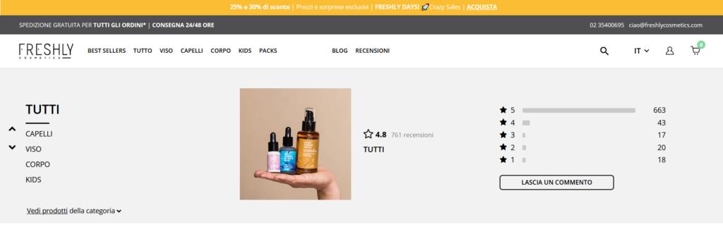 recensioni strategie di marketing beauty e cosmetics