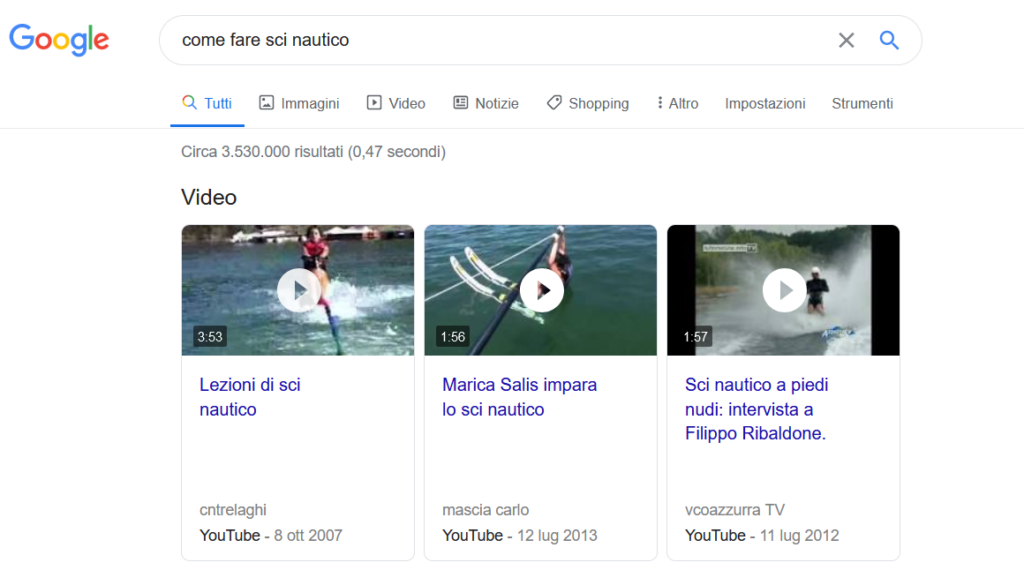 ottimizzare i video per la seo