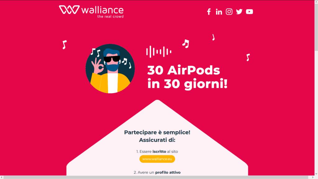 Un AirPods al giorno Walliance